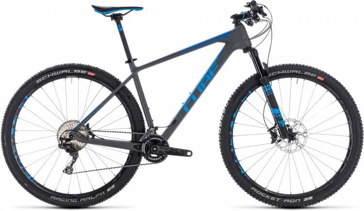 Cube Reaction C:62 SL grey n blue 2018 - Hardtail Mountainbike