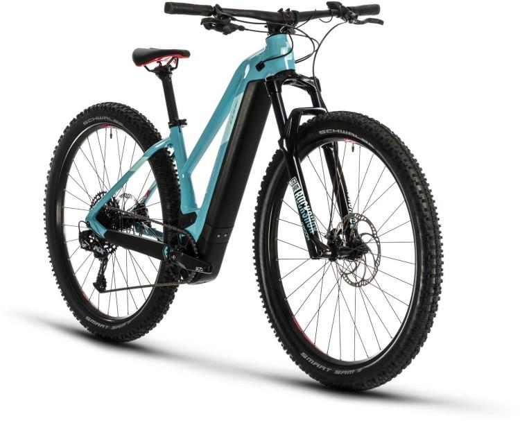 Cube Access Hybrid SL 625 29 blue n coral 2020 - E-Bike Hardtail Mountainbike Damen