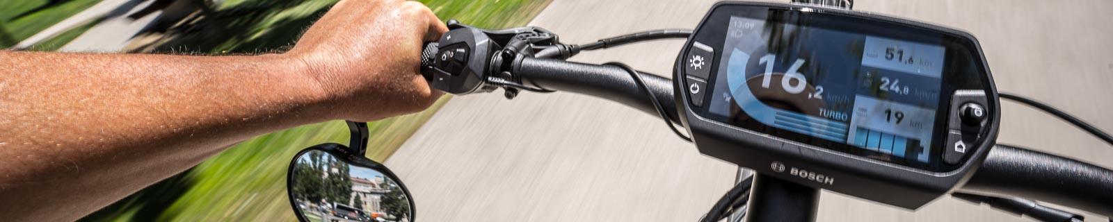 E-Bike Crossbikes und Fitnessräder mit extra Power