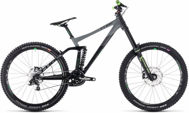 Cube TWO15 Race 27.5 black n green 2018 - Fully Mountainbike