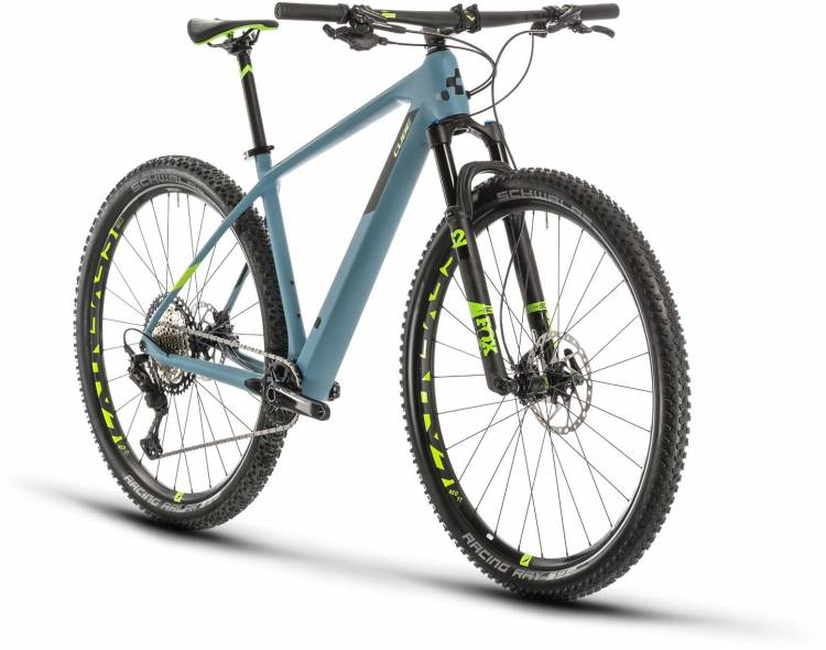 Cube Reaction C:62 SL greyblue n green 2020 - Hardtail Mountainbike