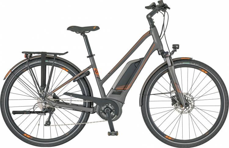 Scott E-Sub Tour Lady 2018 - Damen Trapez E-Bike Trekkingrad