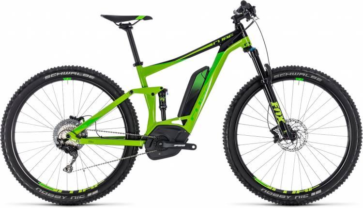 Cube Stereo Hybrid 120 EXC 500 green n leaf green 2018 - E-Bike Fully Mountainbike
