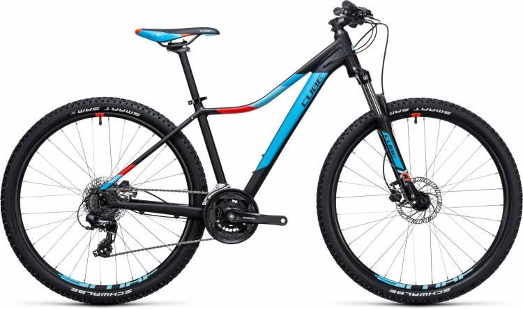 Cube Access WLS Disc black n blue 2017 - Damen Hardtail Mountainbike