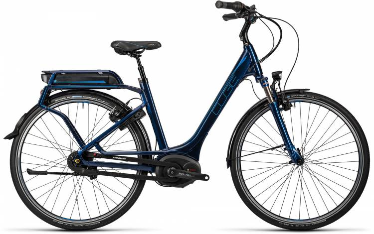 Cube Travel Hybrid Pro 500 darkblue n flashblue Damen - Easy Entry 2016