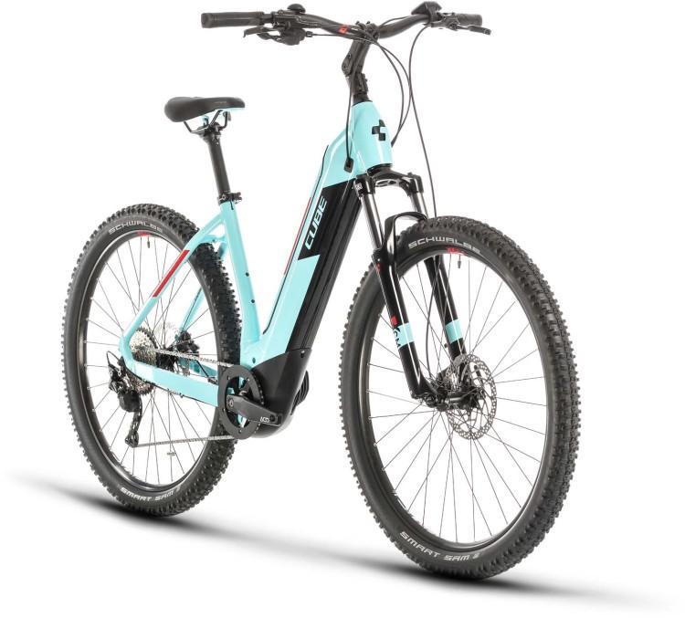 Cube Nuride Hybrid Pro 625 glacierblue n red 2020 - E-Bike Hardtail Mountainbike