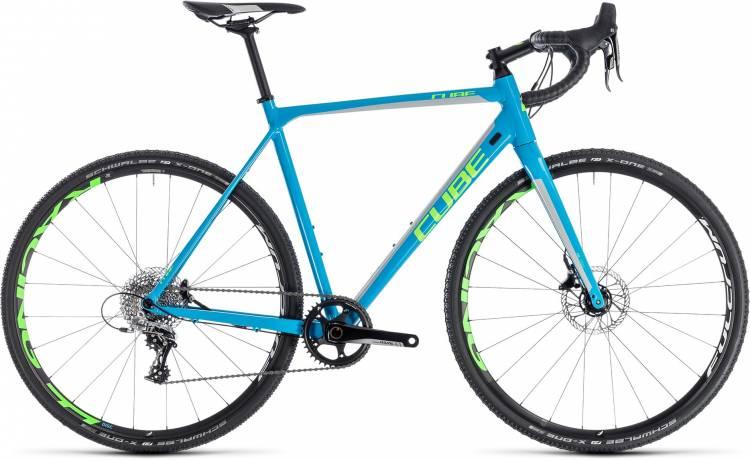 Cube Cross Race SL blue n green 2018 - Cyclocross