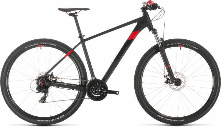 Cube Aim black n red 2020 - Hardtail Mountainbike