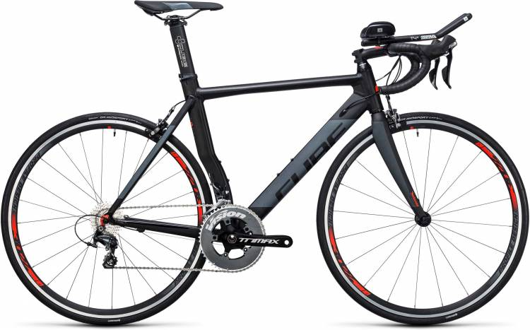 Cube Aerium HPA Pro black n grey 2017 - Triathlonrad