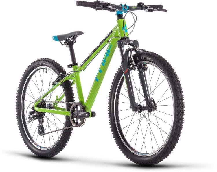 Cube Acid 240 green n blue n grey 2021 - Kinderrad 24 Zoll