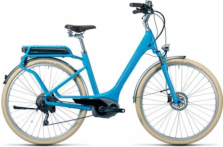 Cube Elly Ride Hybrid 500 blue n flashred Damen - Easy Entry 2016
