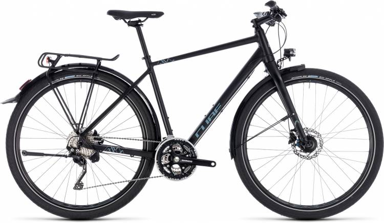 Cube Travel EXC black n grey 2018 - Herren Trekkingrad