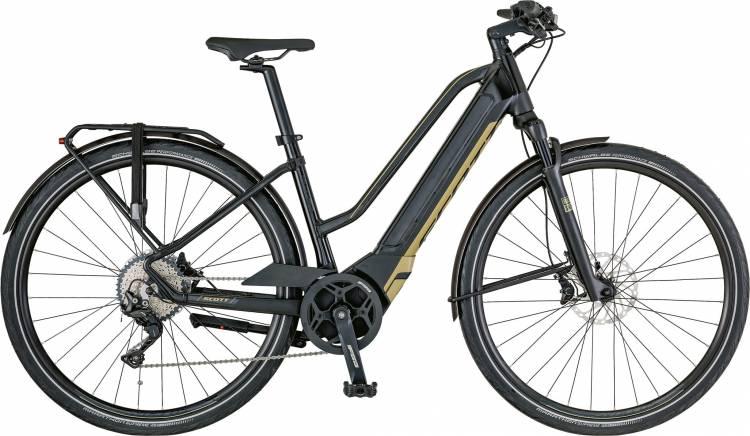 Scott E-Silence 10 Lady 2018 - Damen Trapez E-Bike Trekkingrad