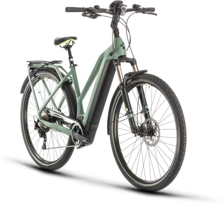 Cube Kathmandu Hybrid EXC 625 green n green 2020 - E-Bike Trekkingrad Damen