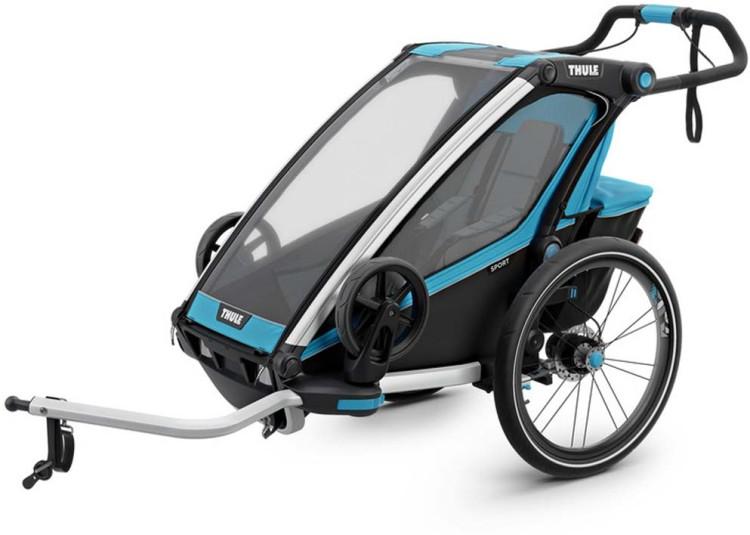 Thule Chariot Sport1 (Einsitzer) blue