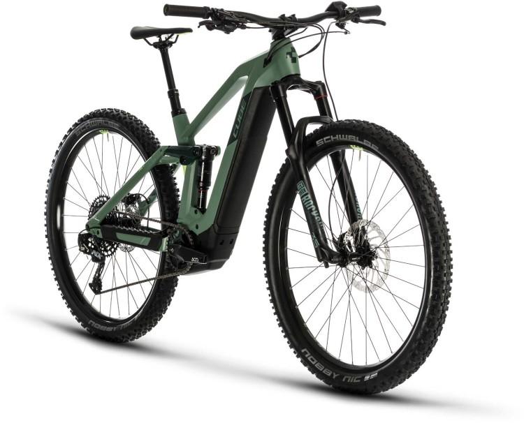 Cube Stereo Hybrid 140 HPC Race 500 29 green n sharpgreen 2020 - E-Bike Fully Mountainbike