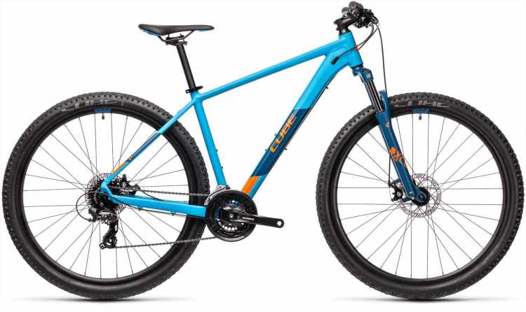 Cube Aim blue n orange 2021 - Hardtail Mountainbike