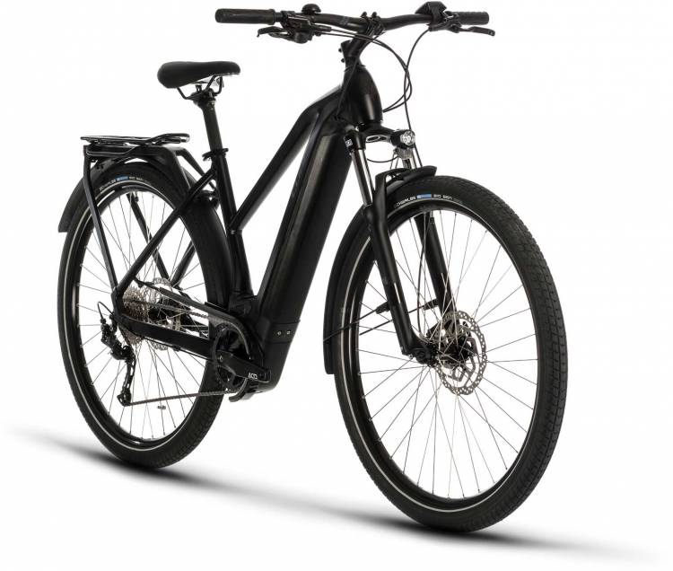 Cube Kathmandu Hybrid ONE 625 black n grey 2020 - E-Bike Trekkingrad Damen