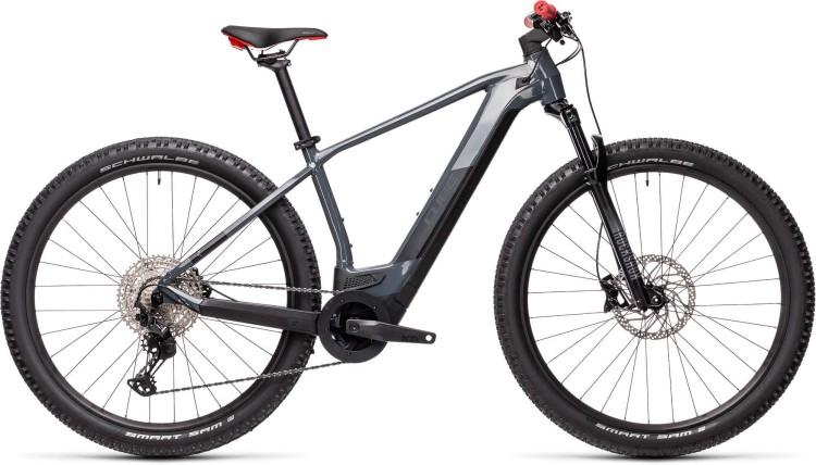 Cube Reaction Hybrid Race 625 29 grey n red 2021 - E-Bike Hardtail Mountainbike