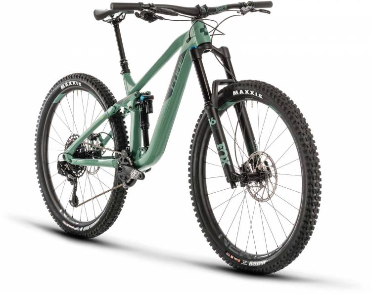 Cube Stereo 170 Race 29 green n sharpgreen 2020 - Fully Mountainbike