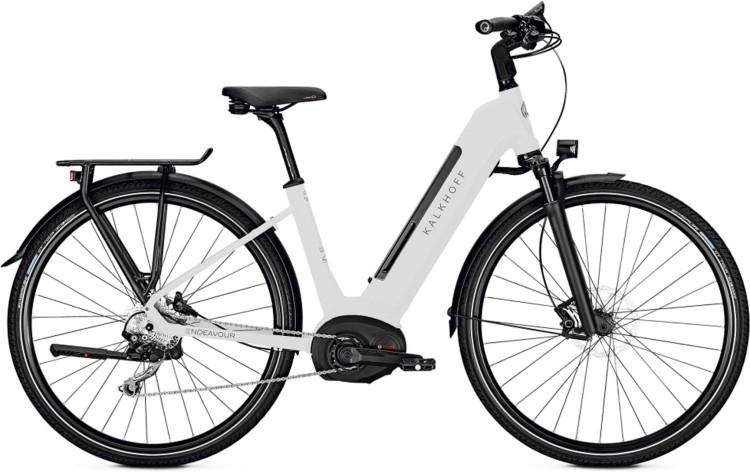 Kalkhoff Endeavour 5.B Advance diamondblack/starwhite glossy (Wave) 2020 - E-Bike Trekkingrad Tiefei