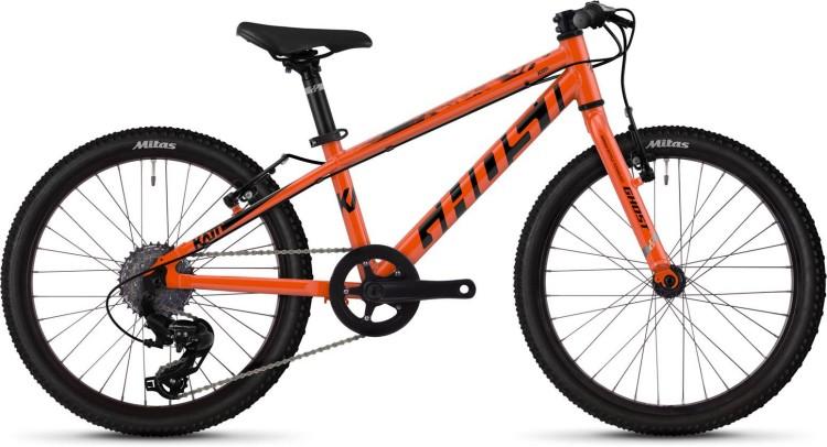 Ghost Kato R1.0 AL U monarch orange / jet black 2020 - Kinderrad 20 Zoll