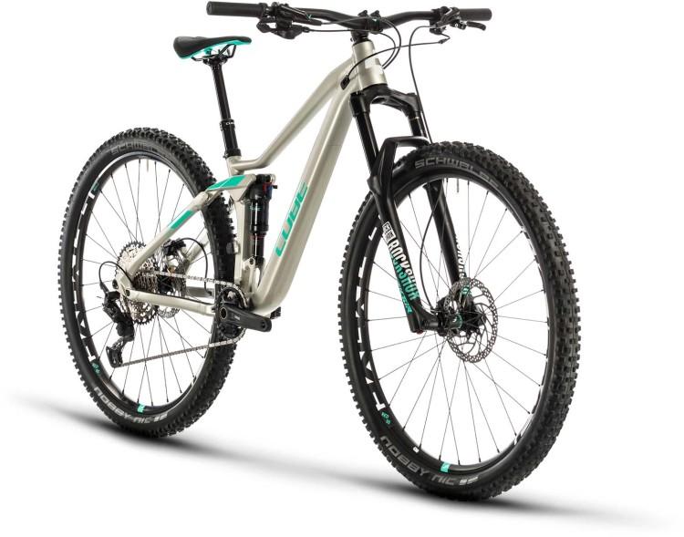 Cube Sting WS 120 PRO titan n mint 2020 - Fully Mountainbike Damen