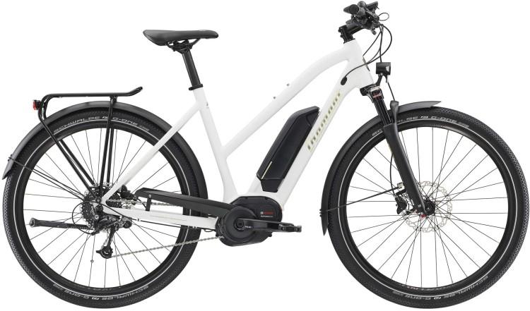 Diamant Elan+ GOR Weiss 2020 - E-Bike Trekkingrad Damen