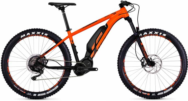 Ghost Hybride Kato S3.7+ AL U 2018 - E-Bike Hardtail Mountainbike