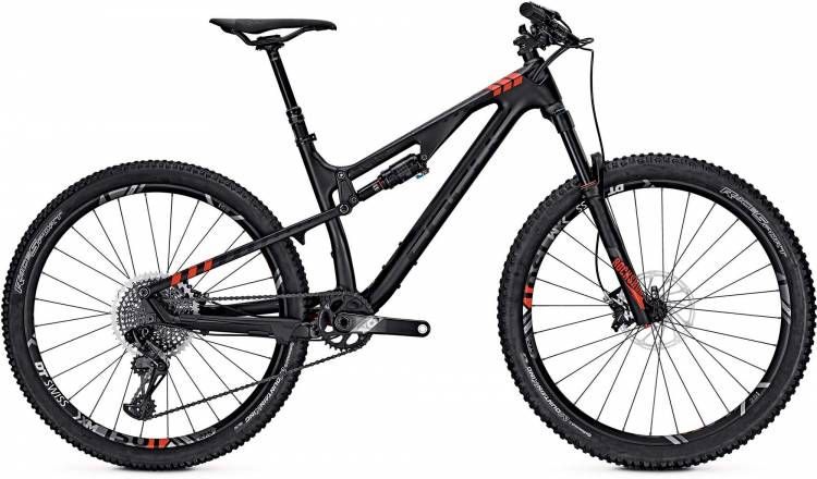 Focus Spine C SL 27 black/red 2017 - Fully Mountainbike