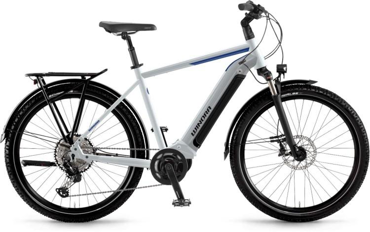 Winora Yucatan 12 i630Wh winterwhite 2021 - E-Bike Trekkingrad Herren
