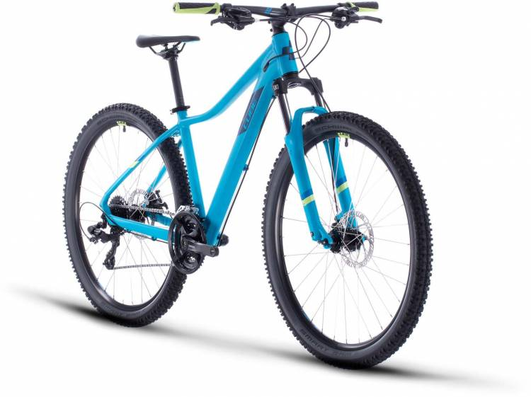 Cube Access WS blue n green 2020 - Hardtail Mountainbike Damen