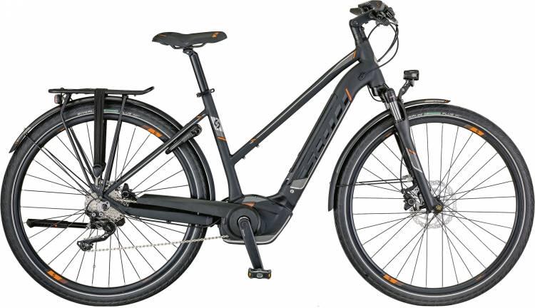 Scott E-Sub Sport 10 Lady 2018 - Damen Trapez E-Bike Trekkingrad