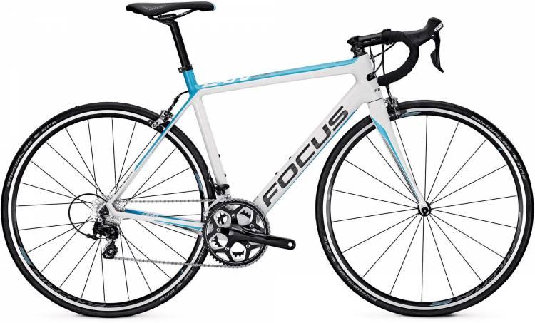 Focus Cayo 105 M white/blue/grey 2017 - Herren Carbon Rennrad