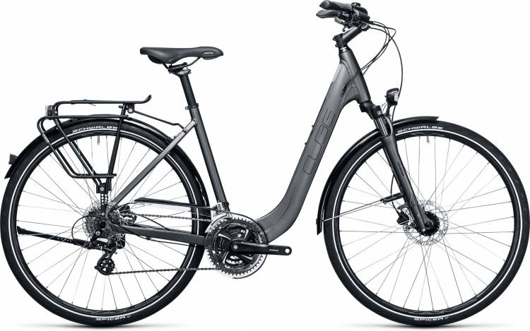 Cube Touring Pro grey n flashgreen Easy Entry 2017