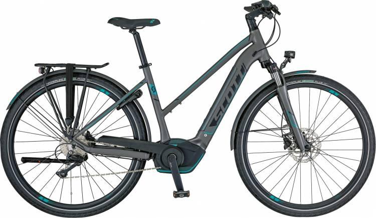 Scott E-Sub Sport 20 Lady 2018 - Damen Trapez E-Bike Trekkingrad