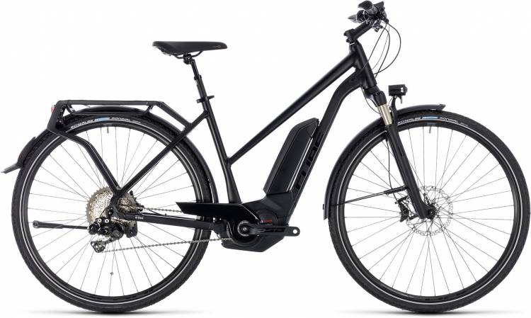 Cube Kathmandu Hybrid SL 500 black edition 2018 - Damen Trapez E-Bike Trekkingrad