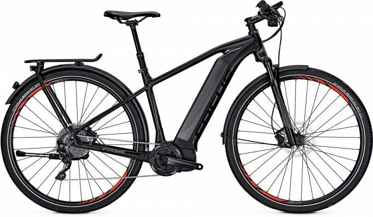 Focus Jarifa I Street Pro 29 black 2017 - Herren E-Bike Trekkingrad