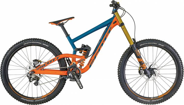 Scott Gambler 710 2018 - Fully Mountainbike