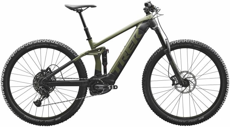 Trek Rail 5 Matte Olive Grey/Trek Black 2020