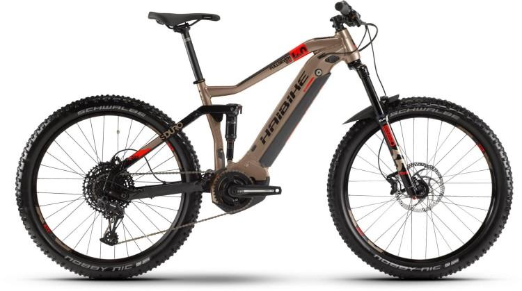 Haibike SDURO FullSeven LT 4.0 500Wh Metallic/Rot/Schwarz 2020