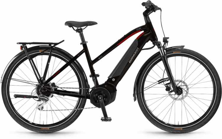 Winora Yucatan 9 i500Wh black coffee 2021 - E-Bike Trekkingrad Damen