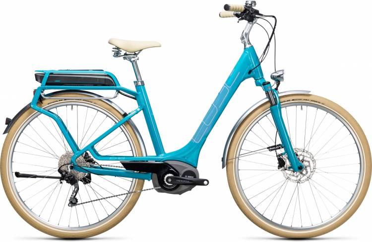 Cube Elly Ride Hybrid 400 blue n aqua Easy Entry 2017