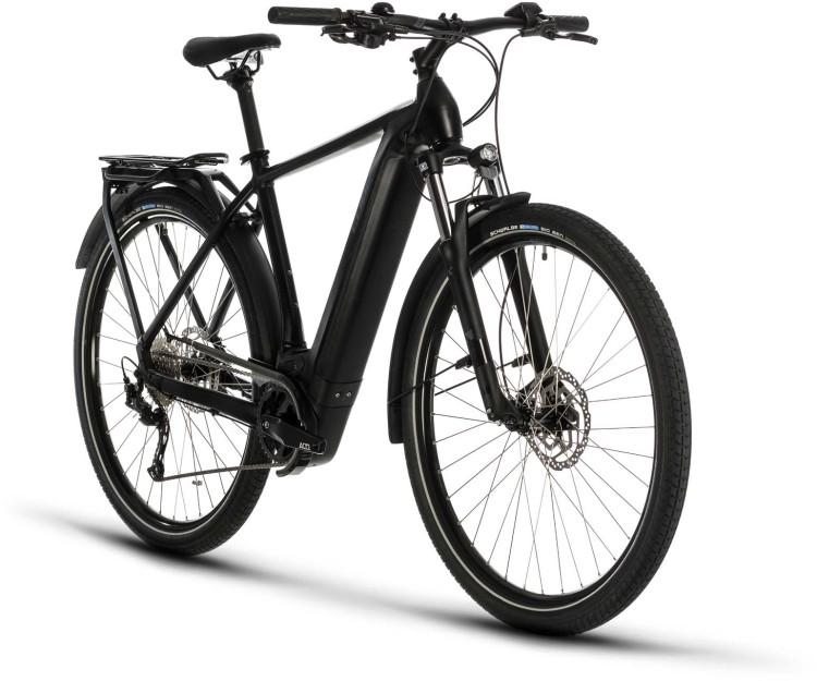 Cube Kathmandu Hybrid ONE 625 black n grey 2020 - E-Bike Trekkingrad Herren