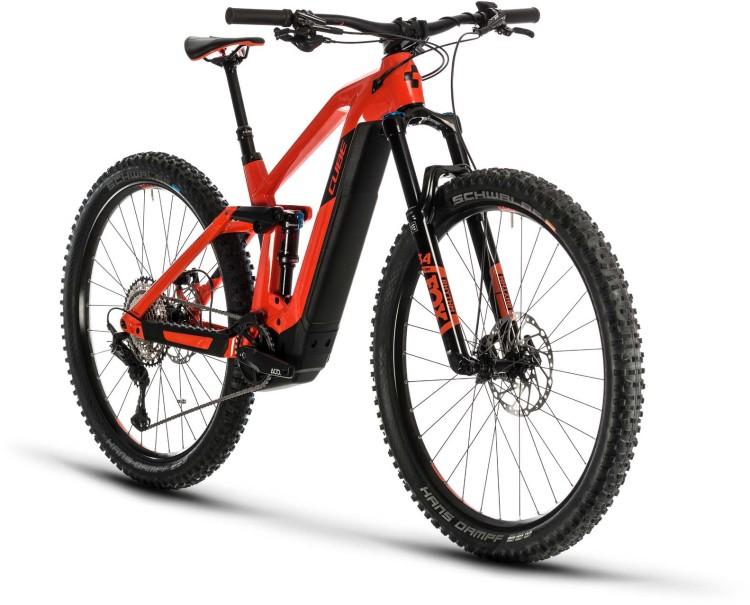 Cube Stereo Hybrid 140 HPC SL 625 29 red n black 2020 - E-Bike Fully Mountainbike