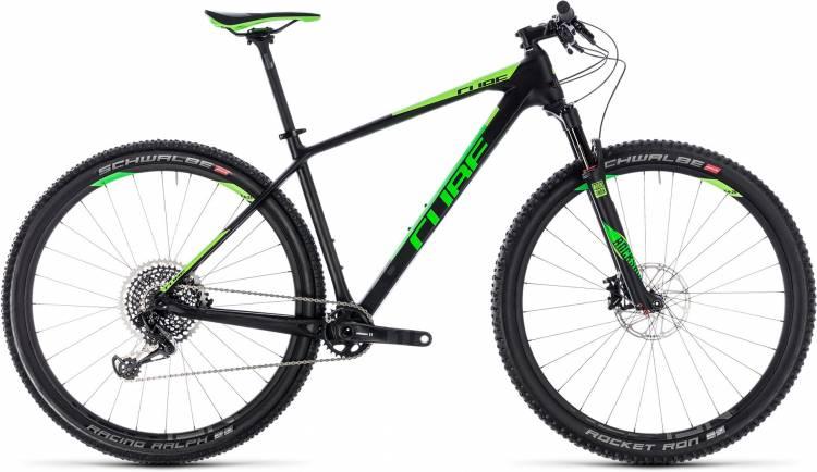 Cube Reaction C:62 Eagle carbon n green 2018 - Hardtail Mountainbike