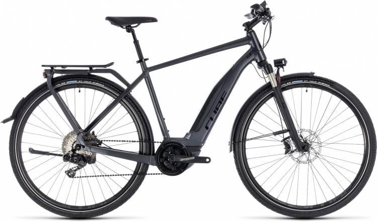 Cube Touring Hybrid SL 500 iridium n red 2018 - Herren E-Bike Trekkingrad
