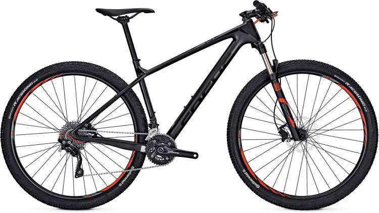 Focus Raven Ltd 27 black 2017 - Hardtail Mountainbike
