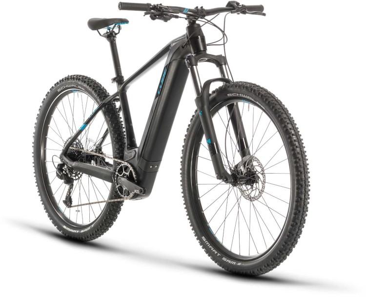 Cube Reaction Hybrid EX 625 29 black n blue 2020 - E-Bike Hardtail Mountainbike