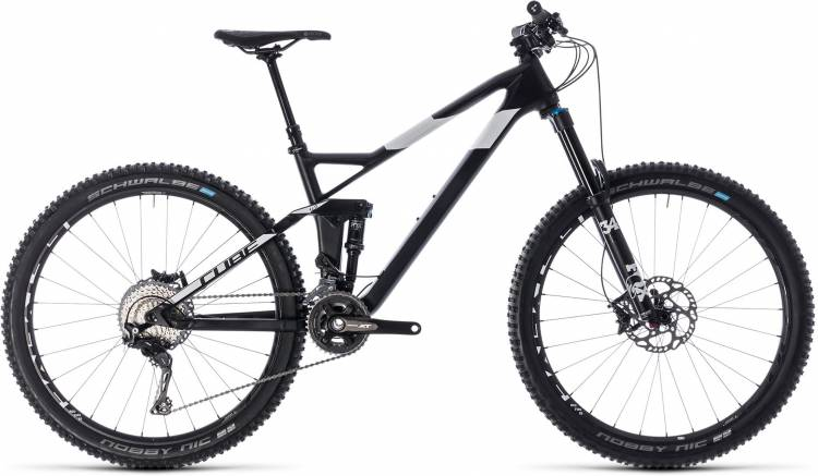 Cube Stereo 140 HPC SL 27.5 carbon n white 2018 - Fully Mountainbike